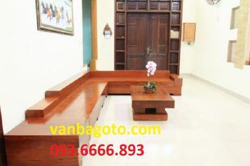 Sofa gỗ nguyên tấm _SOGD027