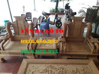 Bàn ghế gỗ| Minh tần cột 14