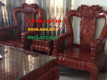 Bàn ghế gỗ| bàn ghế Minh Quốc Voi 10 món