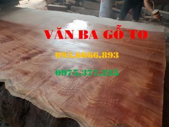 Bàn ăn| Mặt bàn gỗ lát nu_MBA106