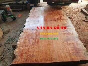 Bàn ăn| Mặt bàn gỗ lát nu_MBA108