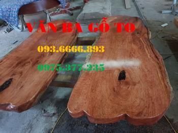 Bàn ăn|Mặt bàn ăn gỗ cẩm đá_MBA410