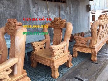 Bàn ghế gỗ| Minh Ghê cột 12