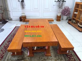 Bàn ăn gỗ_BA103