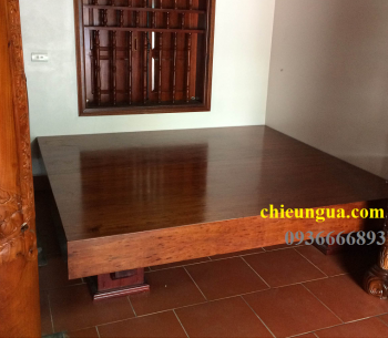 Sập gỗ Gụ_SGG007