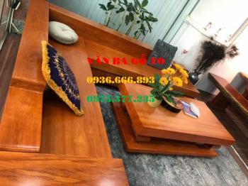 Sofa gỗ tại Bạc Liêu