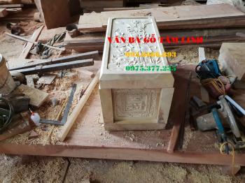 Quách hỏa táng gỗ vàng tâm tại Hà Nội