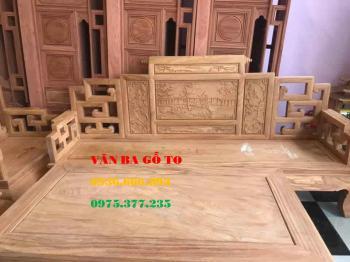 Bàn ghế gỗ Sơn Thủy