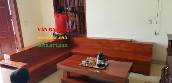 Sofa gỗ đẹp - SOFG308