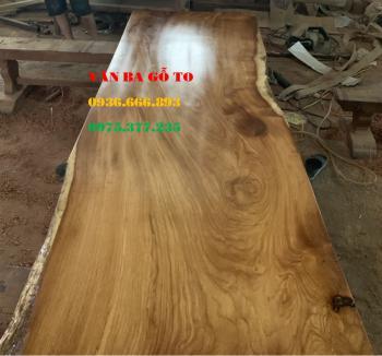 Mặt bàn gỗ nguyên tấm tại Phú Thọ