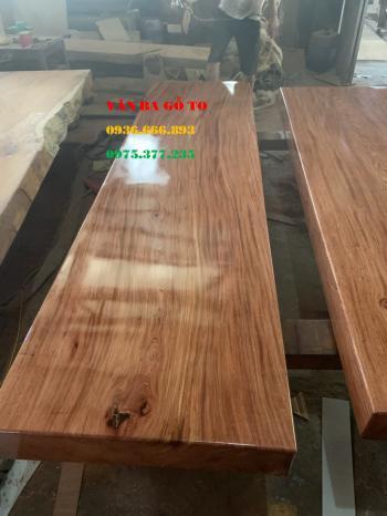 Mặt bàn gỗ nguyên khối tại Bắc Giang