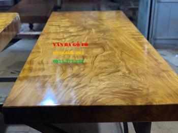 Mặt bàn gỗ nguyên tấm tại Bắc Giang