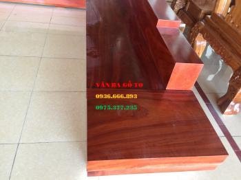Sofa gỗ nguyên khối - SOGH206