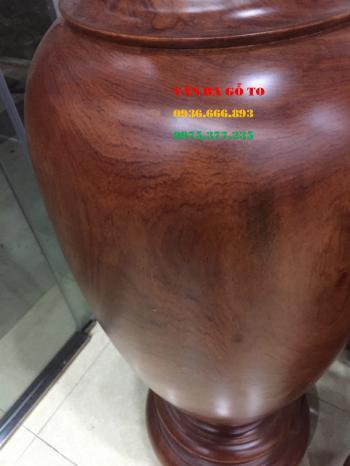Lục bình gỗ nguyên khối - LB104