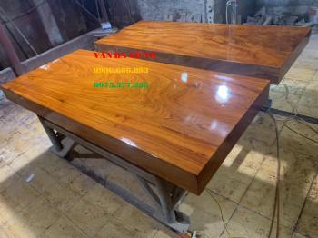 Sập gỗ hương đá - SGHD005
