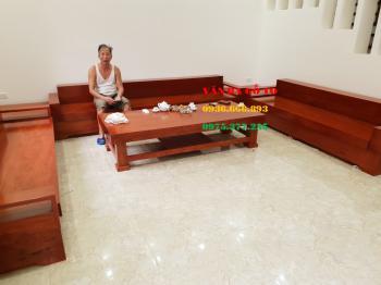 Sofa gỗ phòng khách - SFGH005