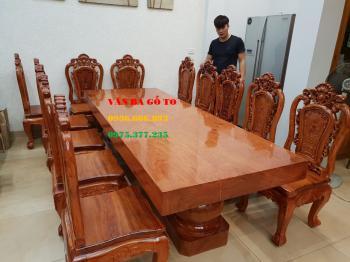 Bộ bàn ăn gỗ VIP Tại Hồ Chí Minh