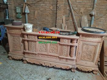 Kệ tivi gỗ tại Quảng Ninh