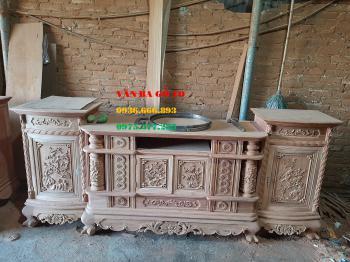 Kệ tivi gỗ tại Thái Nguyên