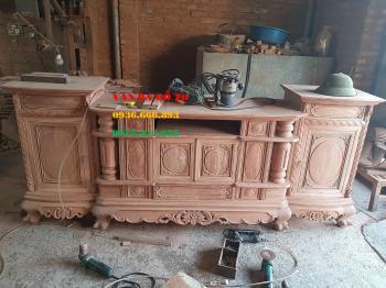 Kệ tivi gỗ tại Hà Tĩnh