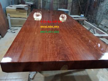 Mặt bàn gỗ nguyên tấm tại Thái Nguyên