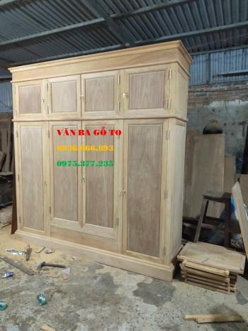Tủ gỗ tự nhiên tại Hải phòng