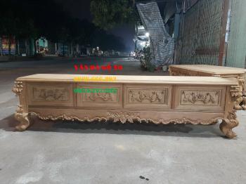Kệ tivi gỗ - KTV037